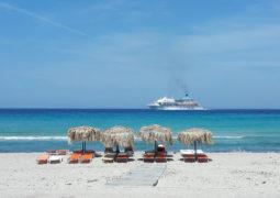 Απογευματινή βόλτα στην παραλία της Πλάθιενας