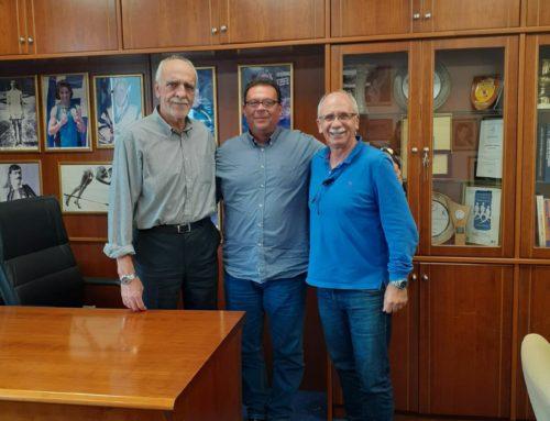 Συνάντηση Δημάρχου Μήλου με τον Σύνδεσμο Ελληνικών Γυμναστικών Αθλητικών Σωματείων